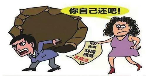婚姻债务问题