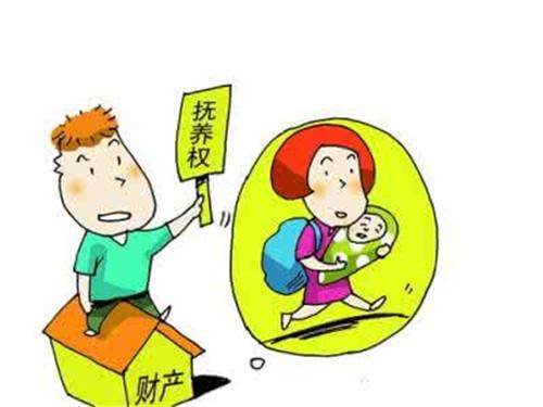 离婚时孩子抚养权归谁