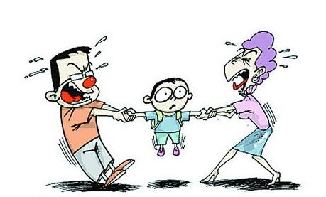 争取孩子的抚养权