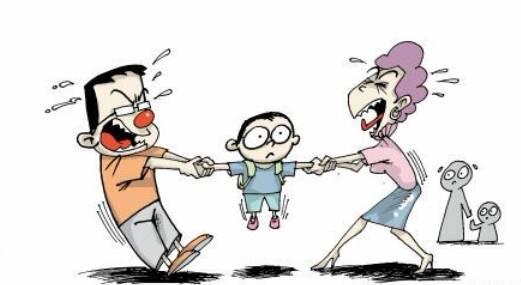 离婚争抚养权