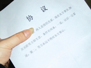合法的婚内协议书怎么写?婚内协议书范本