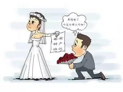 婚姻财产分割协议