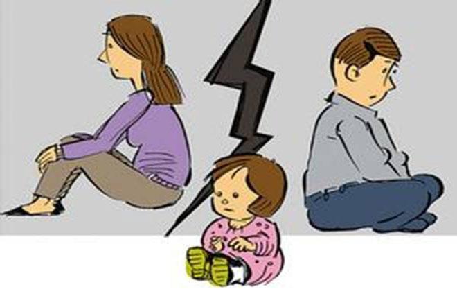 打小孩抚养权